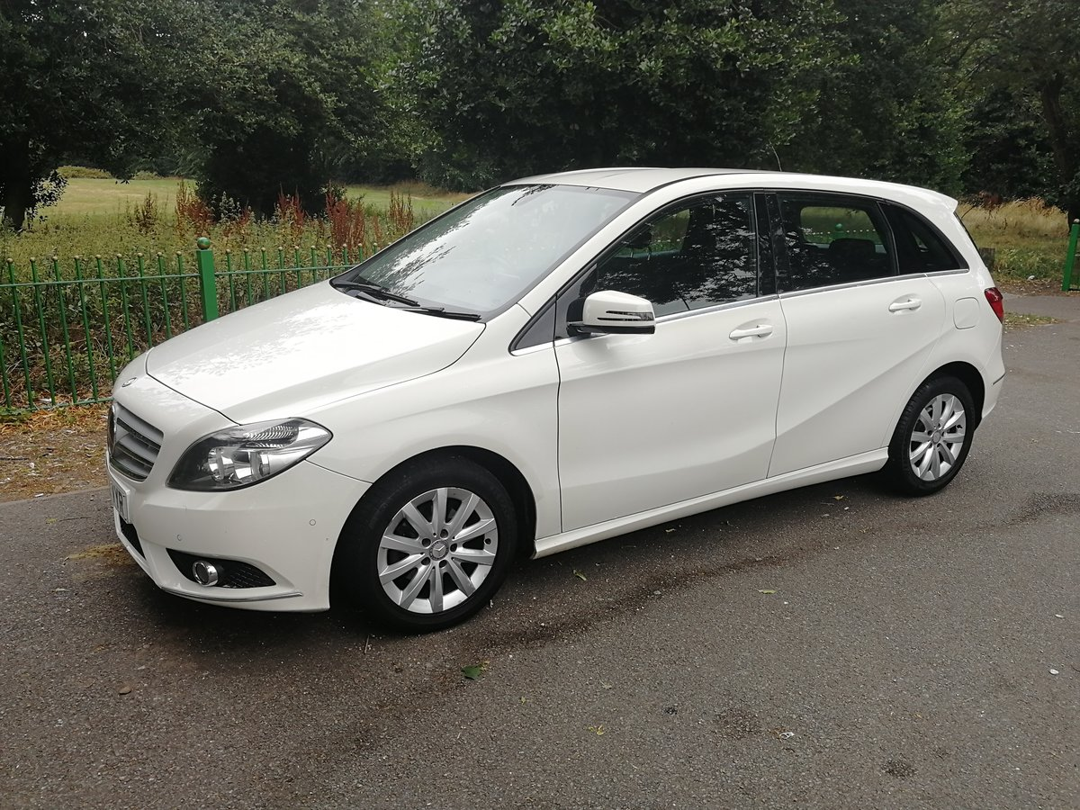 2012 Mercedes b180 se cdi, long mot & £30 a year tax SOLD (picture 1 of 6)