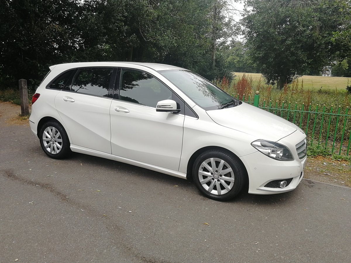 2012 Mercedes b180 se cdi, long mot & £30 a year tax SOLD (picture 2 of 6)