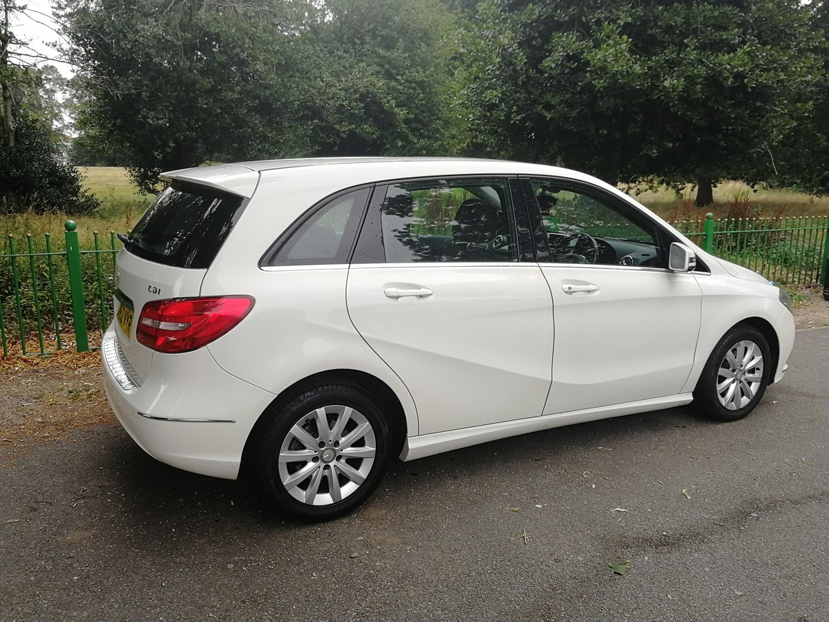 2012 Mercedes b180 se cdi, long mot & £30 a year tax SOLD (picture 4 of 6)