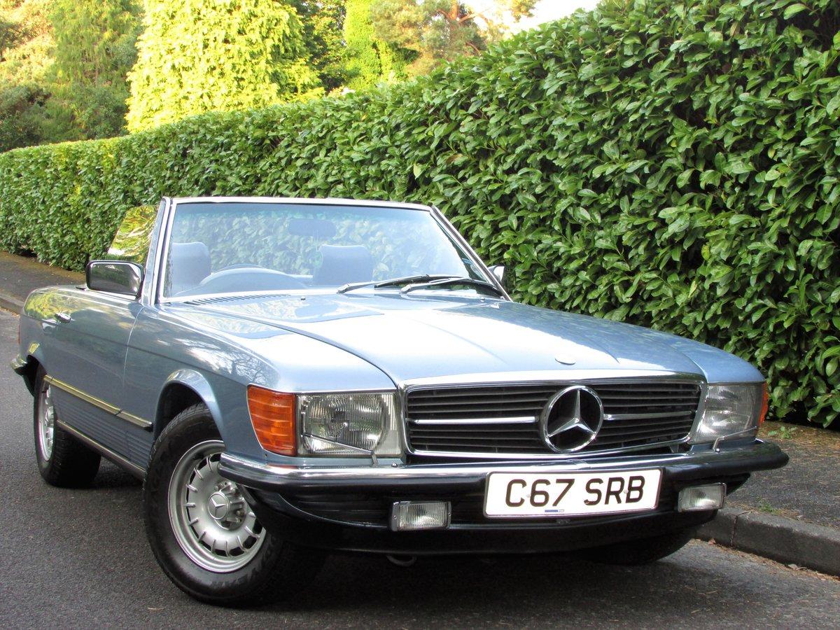 1985 Mercedes-Benz 500 5.0 SL 2dr 67k,FULL MBSH,3 Owner For Sale (picture 1 of 6)