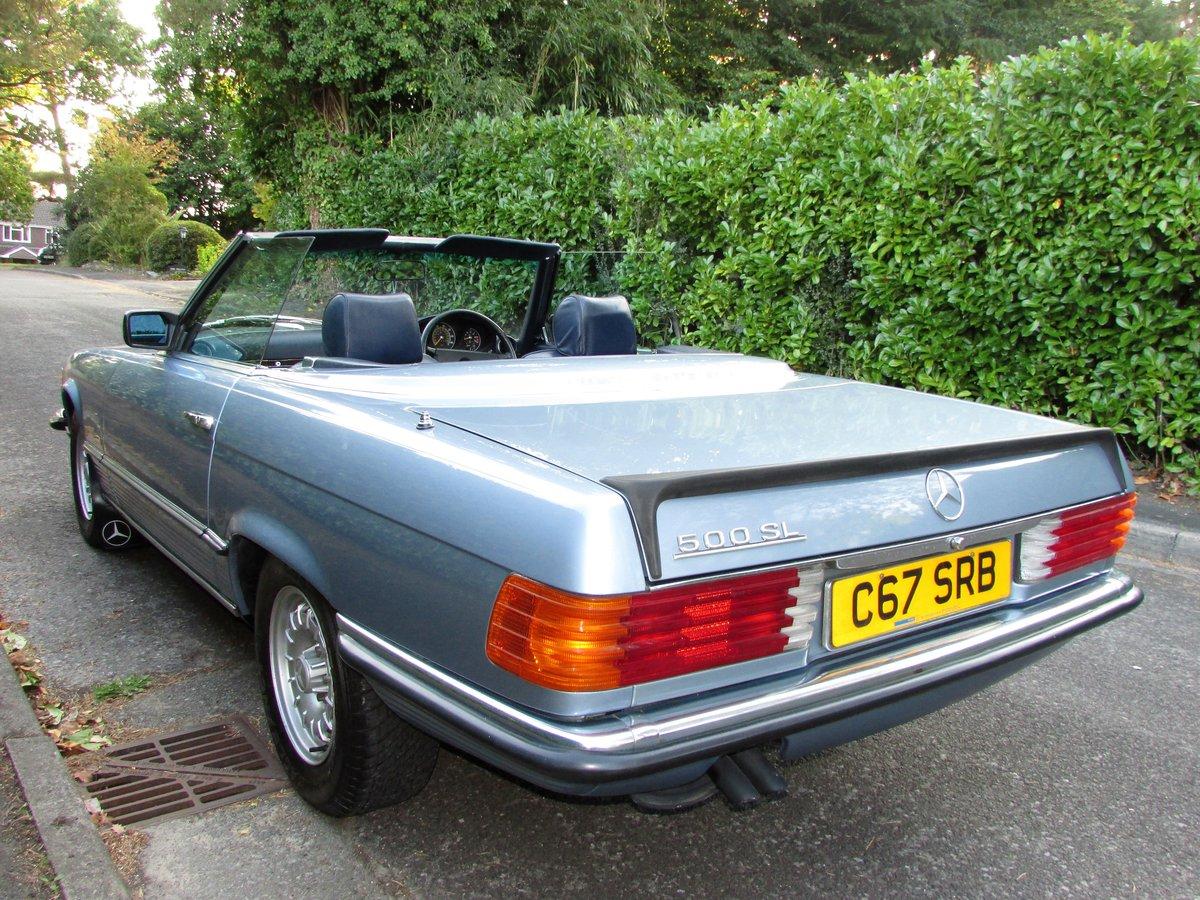 1985 Mercedes-Benz 500 5.0 SL 2dr 67k,FULL MBSH,3 Owner For Sale (picture 2 of 6)