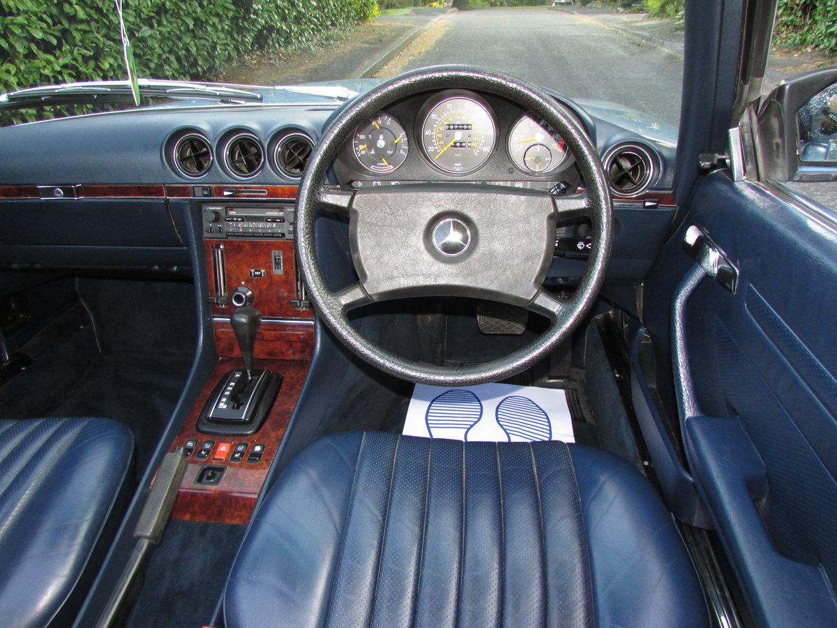 1985 Mercedes-Benz 500 5.0 SL 2dr 67k,FULL MBSH,3 Owner For Sale (picture 4 of 6)