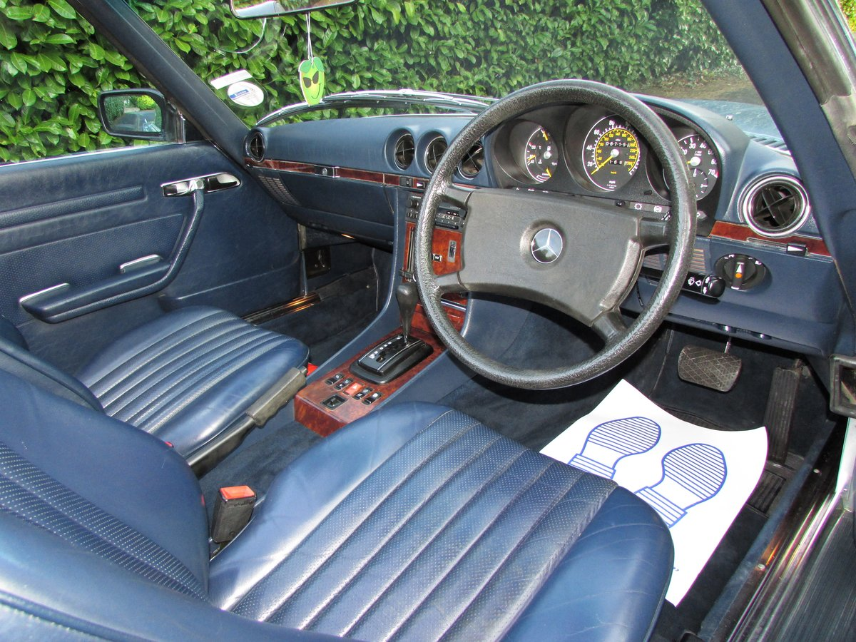 1985 Mercedes-Benz 500 5.0 SL 2dr 67k,FULL MBSH,3 Owner For Sale (picture 5 of 6)