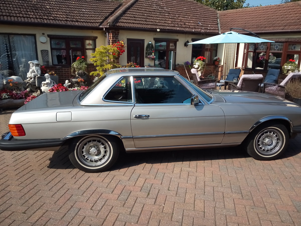 1985 Mercedes 380SLConvertible For Sale (picture 4 of 6)