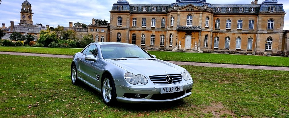 2002 Mercedes-Benz SL 500 AMG, R230 Convertible, Automatic For Sale (picture 1 of 6)
