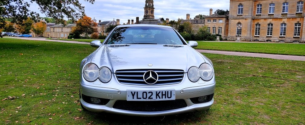 2002 Mercedes-Benz SL 500 AMG, R230 Convertible, Automatic For Sale (picture 2 of 6)