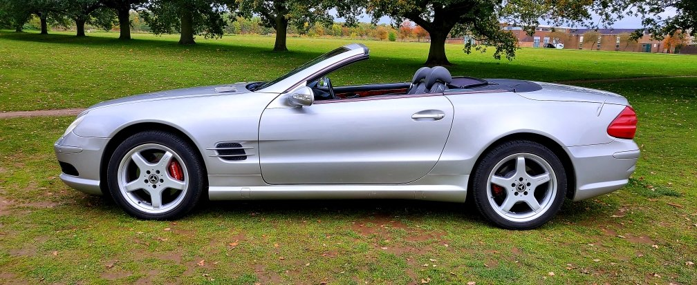 2002 Mercedes-Benz SL 500 AMG, R230 Convertible, Automatic For Sale (picture 3 of 6)