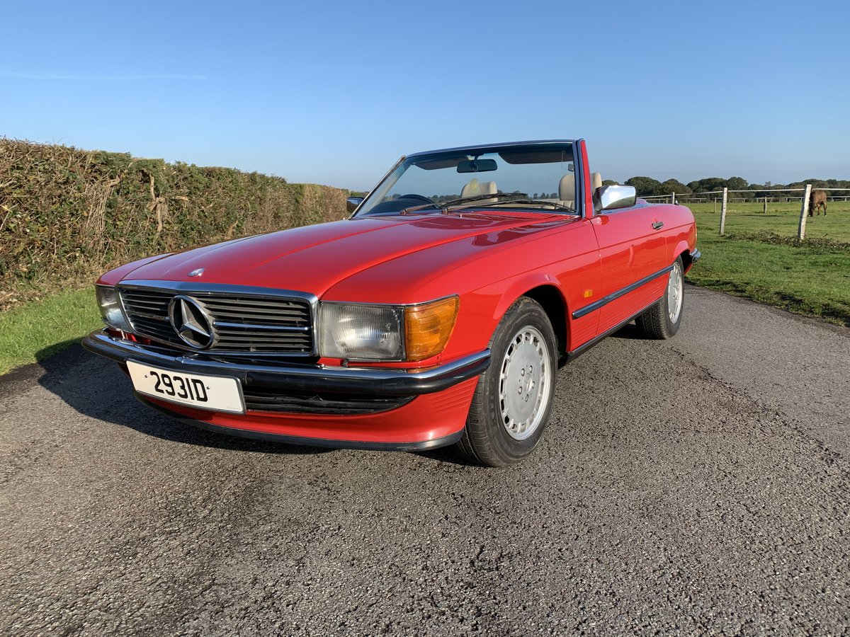 1988 Mercedes 300SL One owner Until 2018 For Sale (picture 1 of 6)