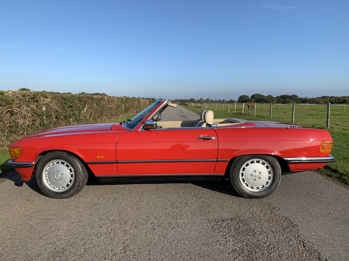 1988 Mercedes 300SL One owner Until 2018 For Sale (picture 4 of 6)