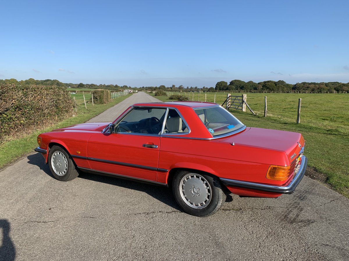 1988 Mercedes 300SL One owner Until 2018 For Sale (picture 5 of 6)