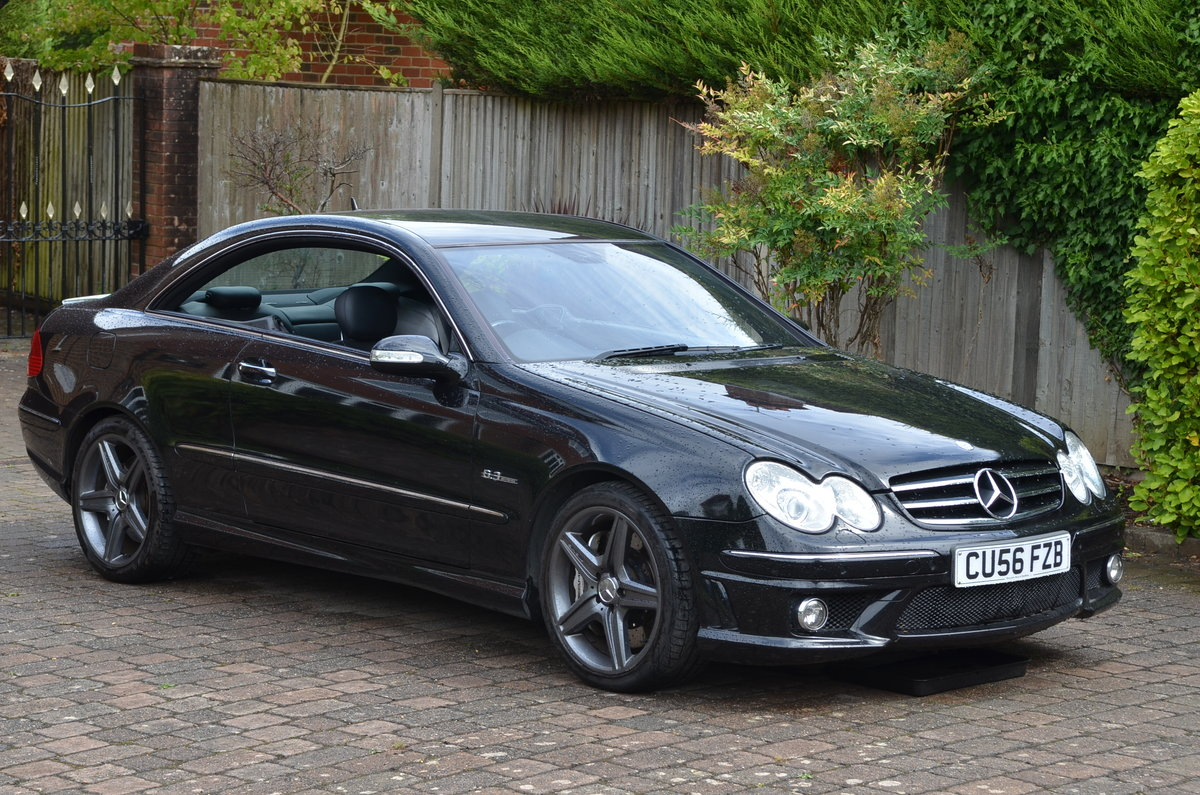 2007 CLK63 AMG Coupe For Sale (picture 5 of 5)