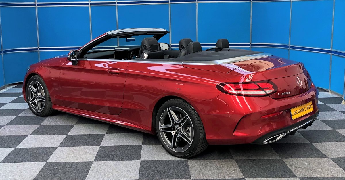 2019 Mercedes C300d Convertible For Sale (picture 2 of 6)