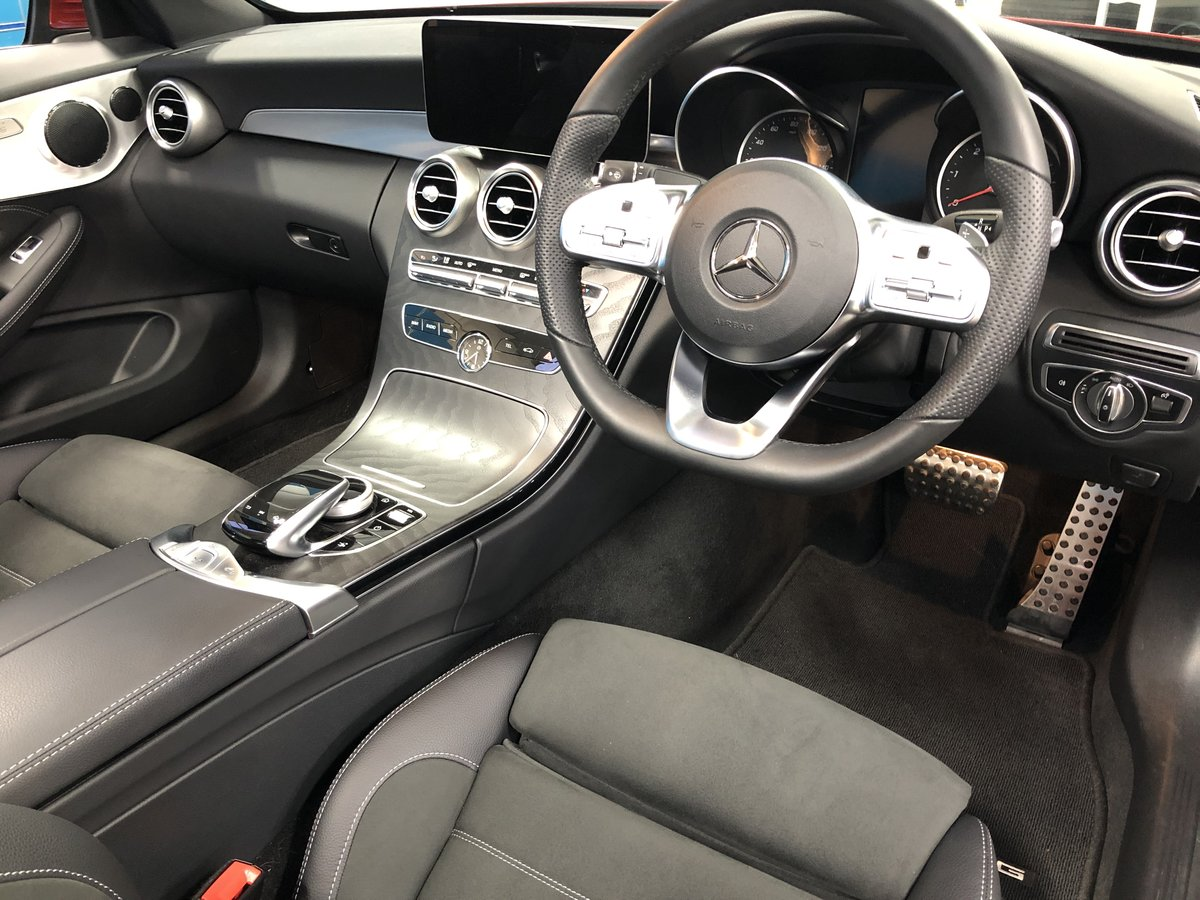 2019 Mercedes C300d Convertible For Sale (picture 3 of 6)