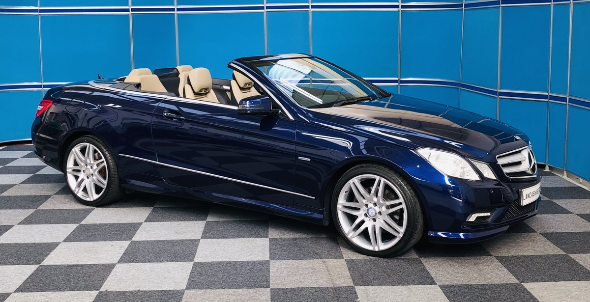 2011 Mercedes E350 Cdi Sport Cabriolet SOLD (picture 1 of 6)