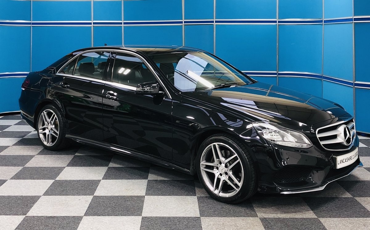 2014 Mercedes E220 Cdi AMG Sport For Sale (picture 1 of 6)