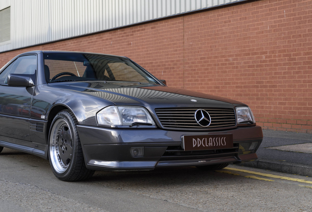 1992 Mercedes-Benz SL60 AMG (RHD) For Sale (picture 9 of 24)
