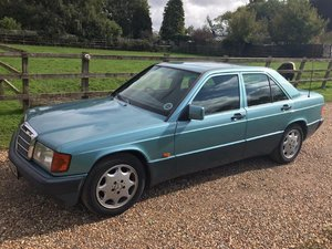 Picture of 1992 Mercedes 190E 2.0 Auto NO RESERVE at ACA 7th November