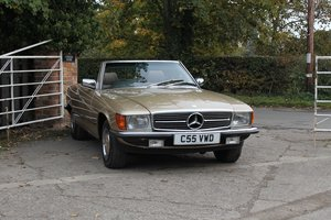 Picture of 1985 Mercedes-Benz 280SL, 68K Miles, Original Bill of Sale For Sale