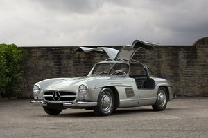 "Picture of 1955 Mercedes-Benz 300 SL ""Papillon"""