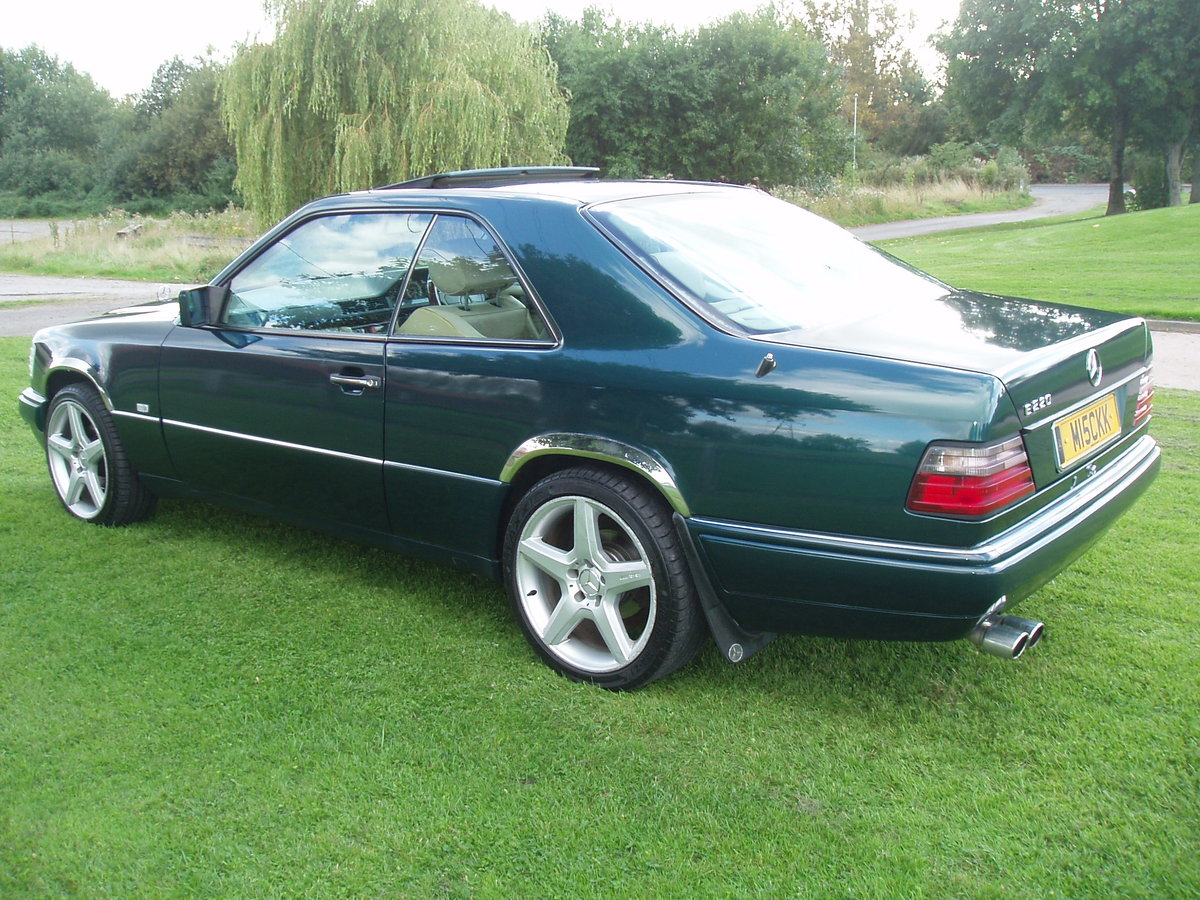 1995 MERCEDES E CLASS RARE 2 DOOR PILLARLESS COUPE 2.2 AUTO For Sale (picture 4 of 6)