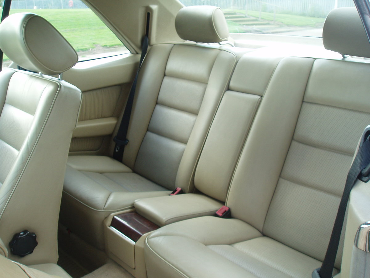 1995 MERCEDES E CLASS RARE 2 DOOR PILLARLESS COUPE 2.2 AUTO For Sale (picture 6 of 6)
