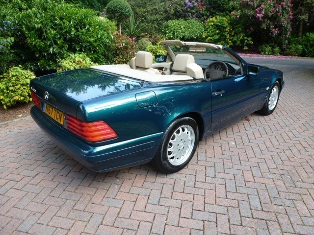 1996 Mercedes sl class For Sale (picture 2 of 6)