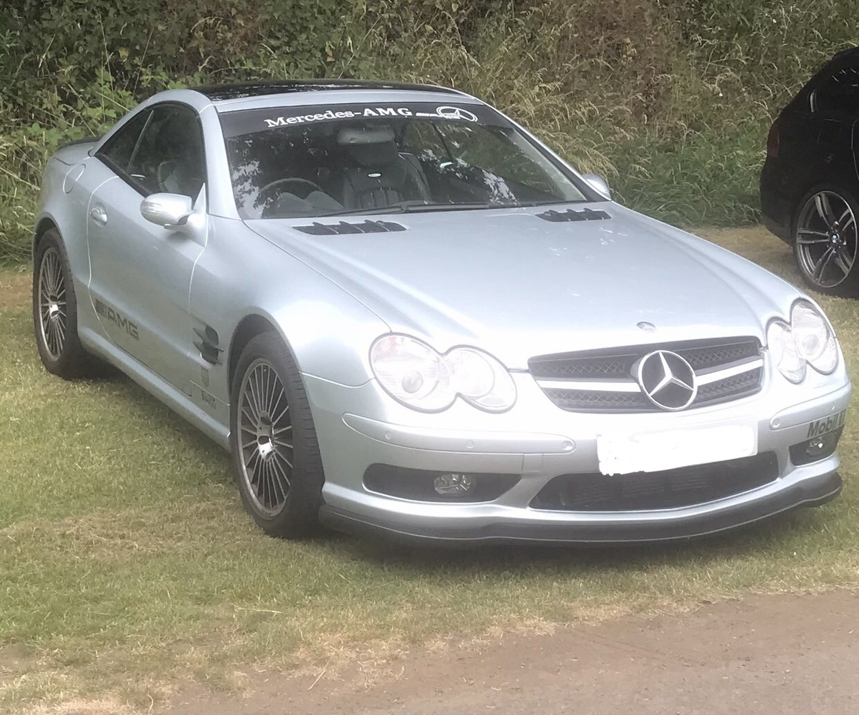 2004 550 bhp Mercedes Supercharged V8 SL55 AMG For Sale (picture 1 of 6)
