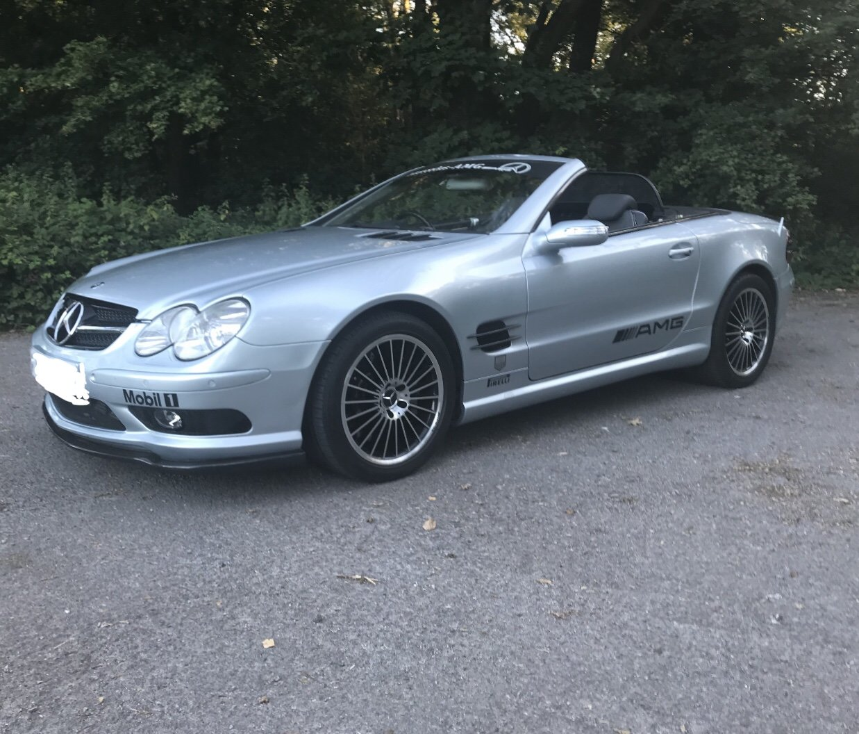 2004 550 bhp Mercedes Supercharged V8 SL55 AMG For Sale (picture 4 of 6)