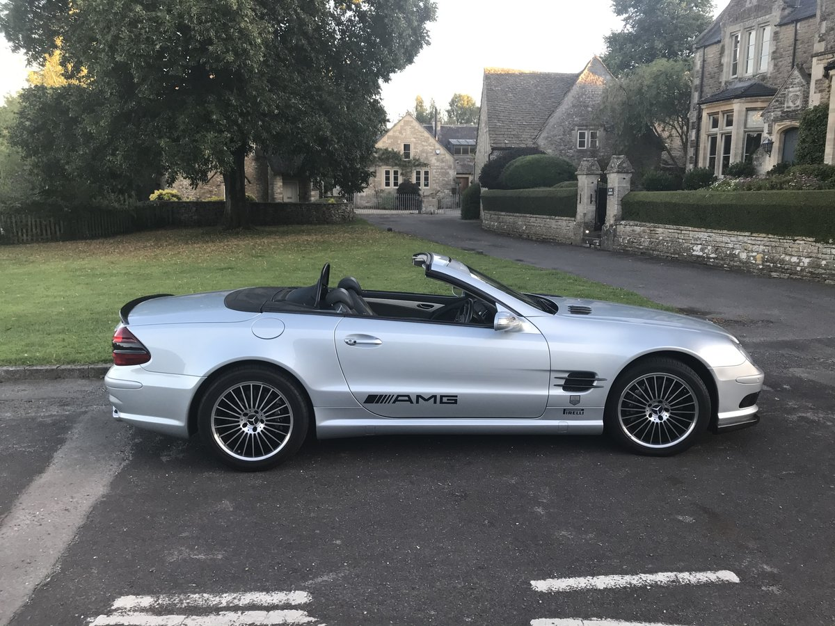 2004 550 bhp Mercedes Supercharged V8 SL55 AMG For Sale (picture 6 of 6)