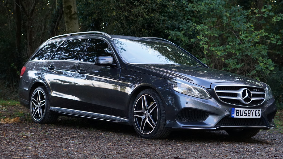 2014 Mercedes E220CDI AMG Sport Estate | Stunning For Sale (picture 1 of 4)