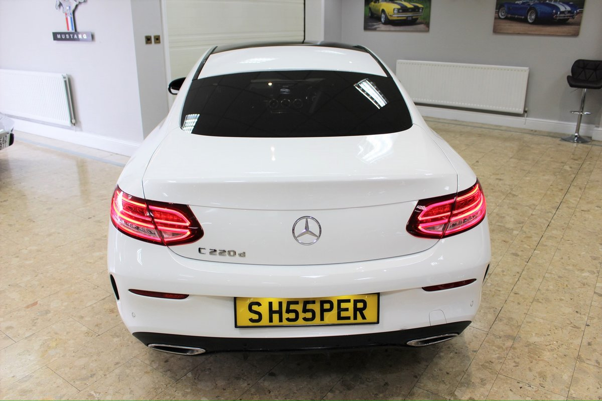 2017 Mercedes-Benz C Class Coupe C220 AMG Line 9G-Tronic For Sale (picture 2 of 10)
