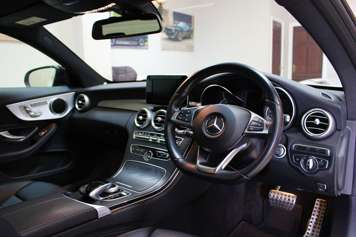 2017 Mercedes-Benz C Class Coupe C220 AMG Line 9G-Tronic For Sale (picture 7 of 10)