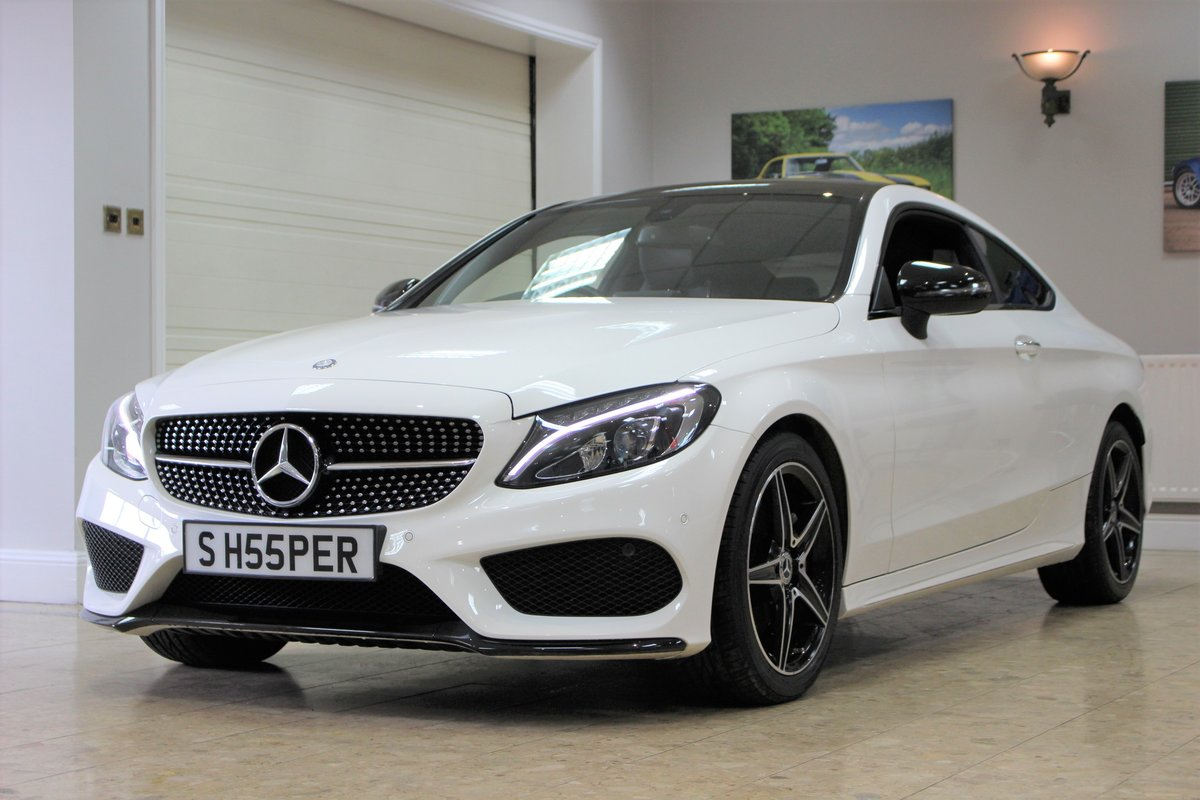 2017 Mercedes-Benz C Class Coupe C220 AMG Line 9G-Tronic For Sale (picture 9 of 10)