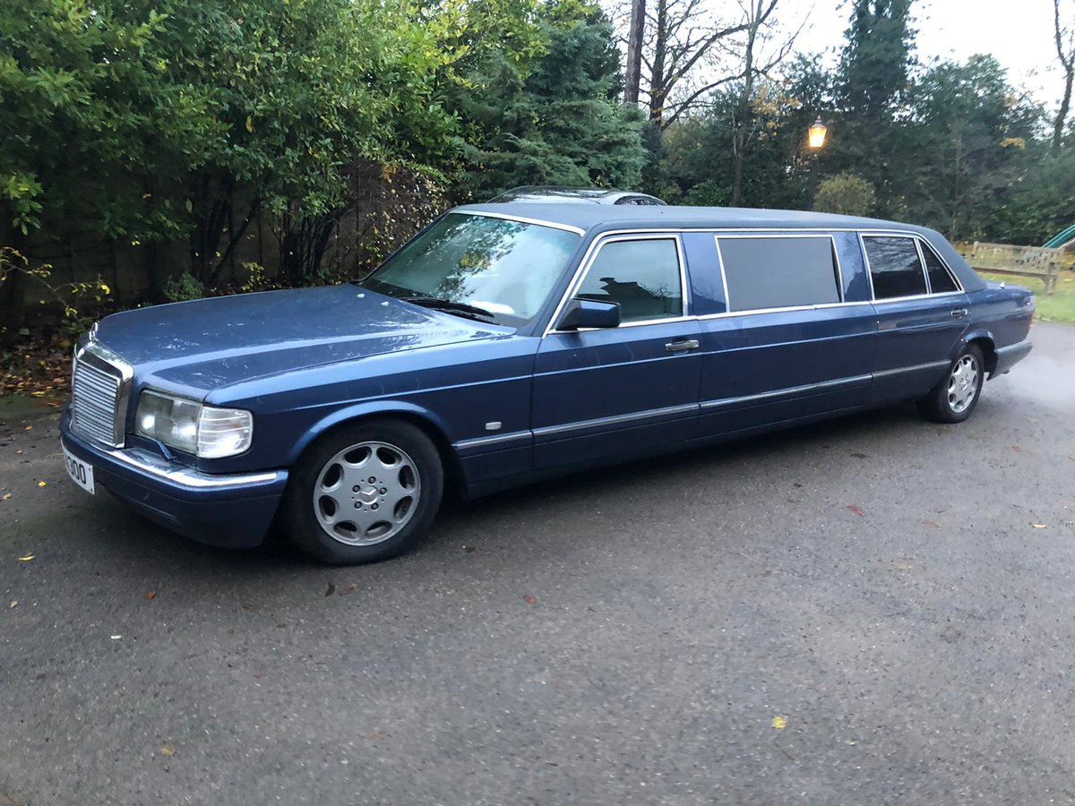 1989 One Off limousine - 500 SEL!!! For Sale (picture 3 of 6)