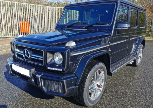 MERCEDES BENZ G63AMG 2020 NEW DELIVERY MILES RHD For Sale (picture 1 of 6)