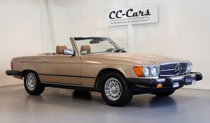 Picture of 1983 Wellkept Mercedes 380 SL 3,8 full of documentation For Sale