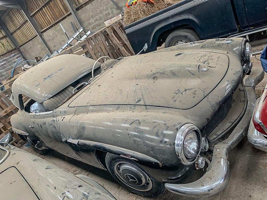 1961 Barn Find ! 190SL LHD For Sale (picture 1 of 4)