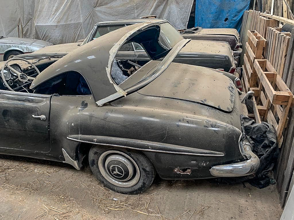 1961 Barn Find ! 190SL LHD For Sale (picture 2 of 4)