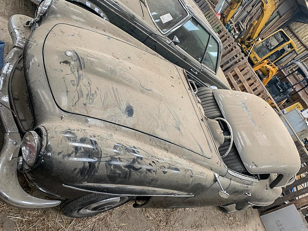 1961 Barn Find ! 190SL LHD For Sale (picture 4 of 4)