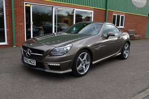 Picture of 2012 Mercedes SLK 55AMG Low Mileage in Indium Grey For Sale