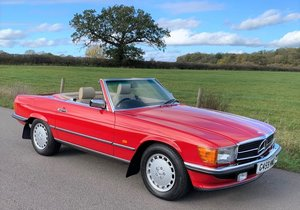 Picture of 1989 Mercedes-Benz 420 SL - Just 1,505 miles from new For Sale by Auction