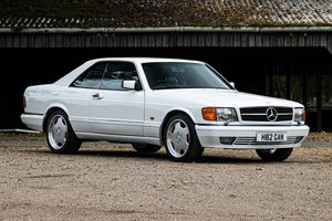 Picture of 1990 Mercedes-Benz 500SEC (W126) Full History UK Supplied For Sale by Auction