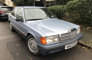 Picture of 1991 MERCEDES-BENZ 190 E For Sale by Auction