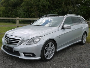 2010 MERCEDES BENZ E350 CDI 265 B/E AMG SPORT ESTATE 7 SEATS