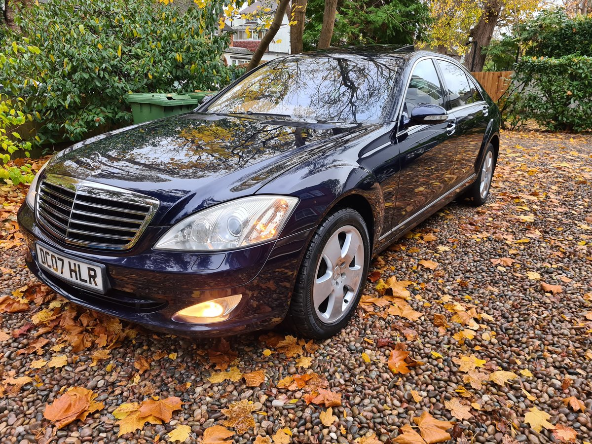 2007 The Finest S500 5.5 LWB FOR SALE IN THE UK SOLD (picture 1 of 6)