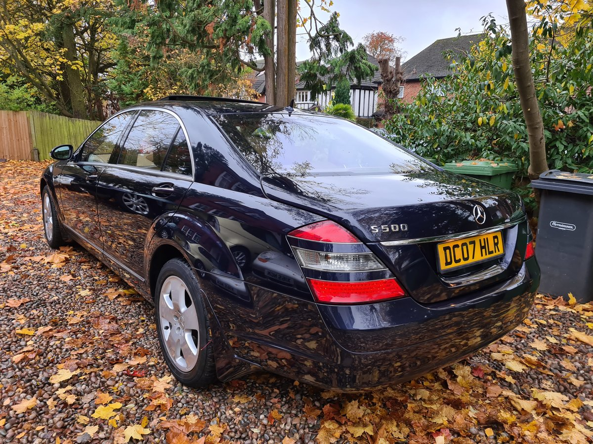 2007 The Finest S500 5.5 LWB FOR SALE IN THE UK SOLD (picture 2 of 6)
