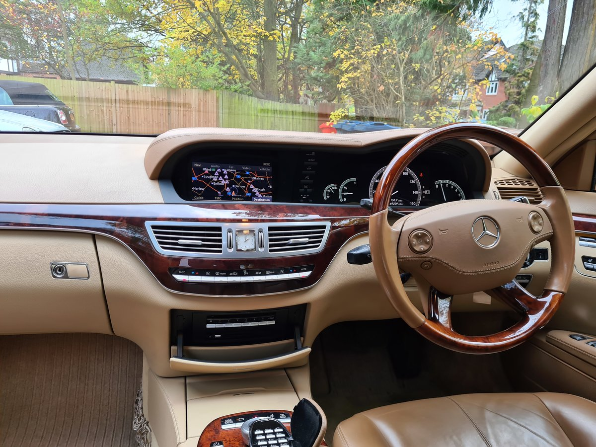 2007 The Finest S500 5.5 LWB FOR SALE IN THE UK SOLD (picture 3 of 6)