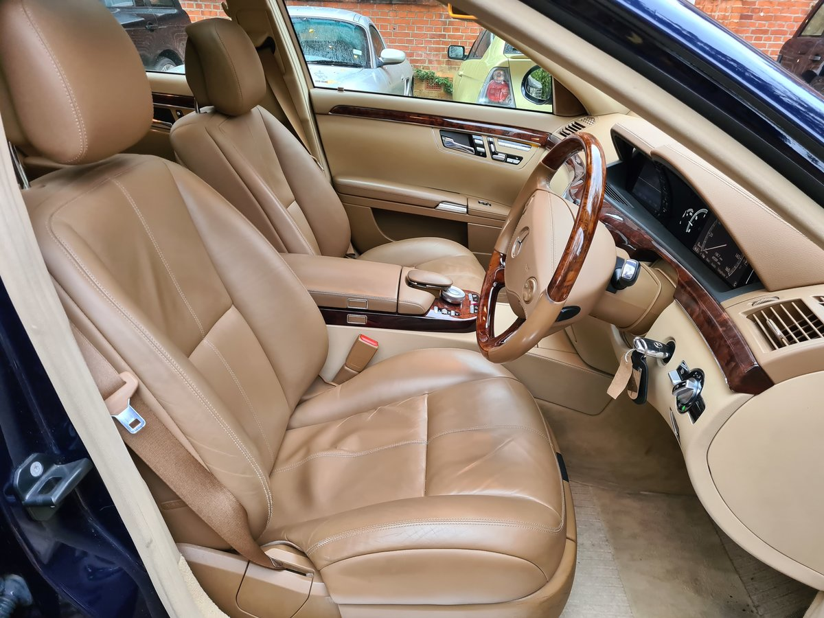 2007 The Finest S500 5.5 LWB FOR SALE IN THE UK SOLD (picture 5 of 6)