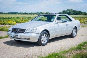 1998 Mercedes C140/W140 CL420 - Silver/Grey - 84k Miles FSH