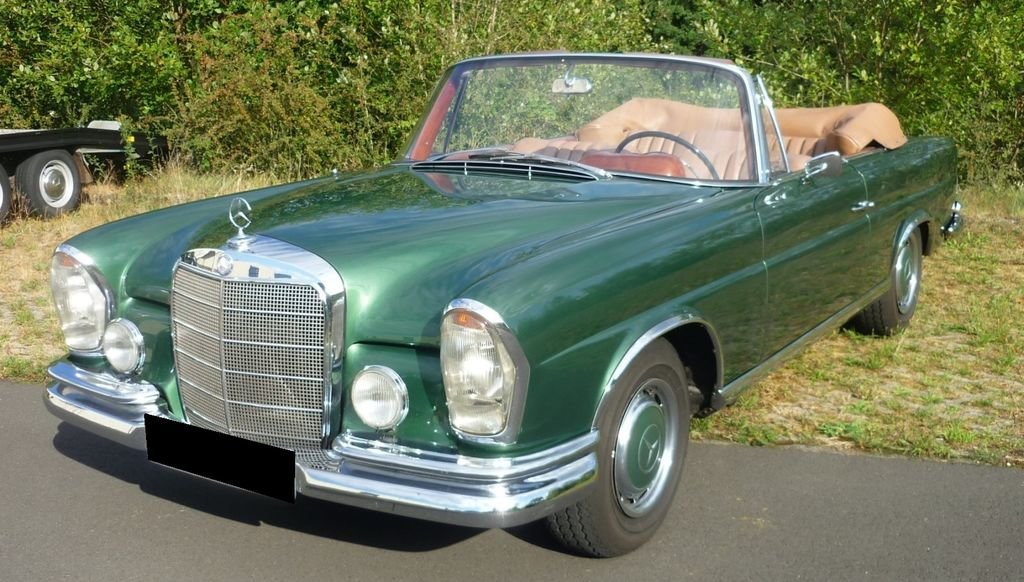1964 Mercedes-Benz 220 SE b - Timelessly beautiful convertible For Sale (picture 1 of 6)